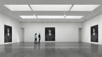 Rudolf Stingel / Exhibition view, Gagosian Gallery, New York / 2011