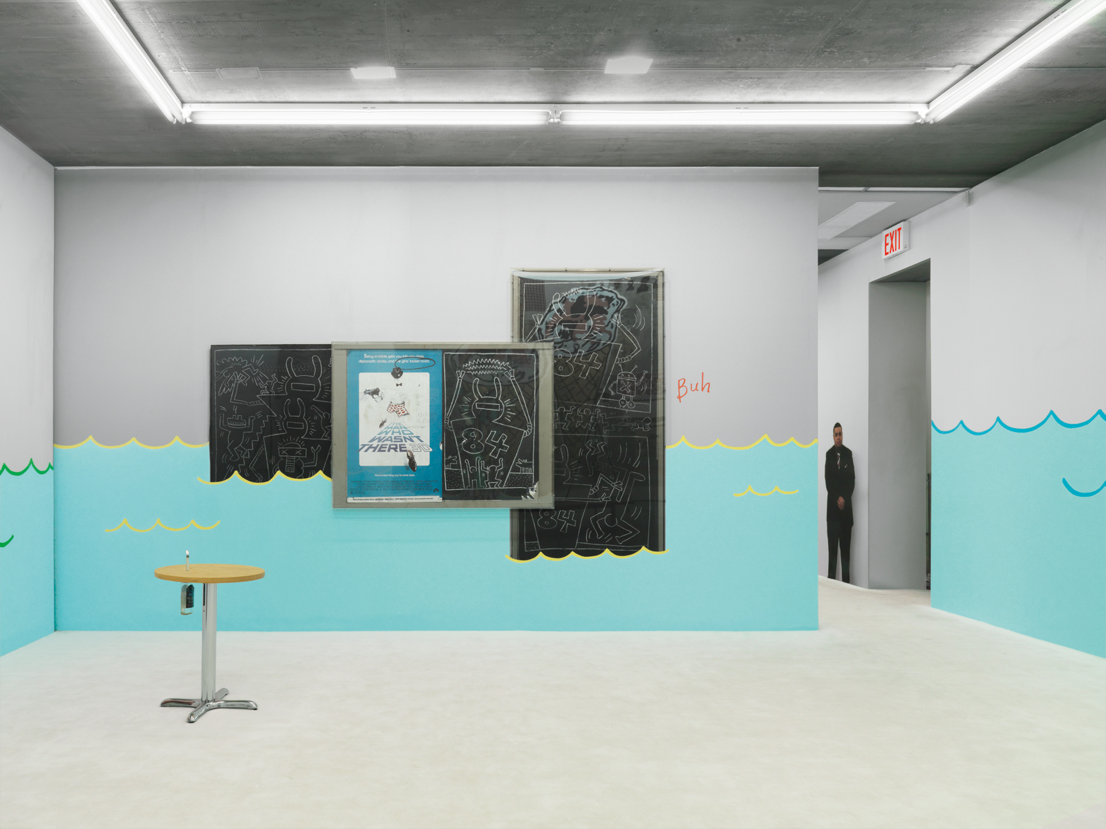 "Urs Fischer / ""Who's Afraid of Jasper Johns"", exhibition view, Tony Shafrazi Gallery, NYC / 2008"