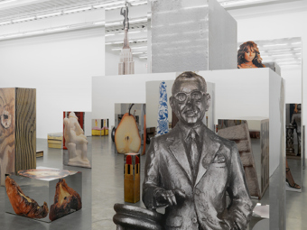 "Urs Fischer / ""Marguerite de Ponty"", exhibition view, New Museum, NYC  / 2009"