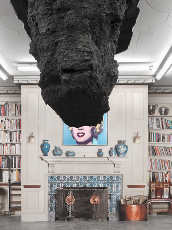 "Urs Fischer / ""Oscar the Groutch"", exhibition view, Brant Foundation / 2010"