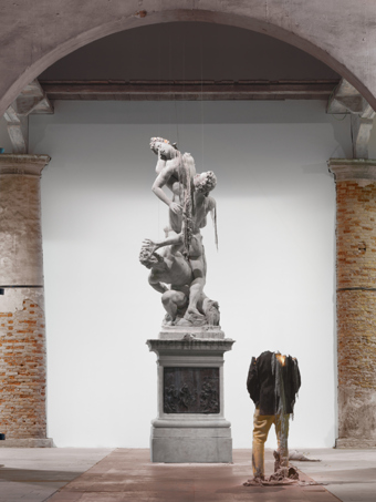 "Urs Fischer / Untitled, installation view, ""Illuminations"", Arsenale, Venice Biennale / 2011"