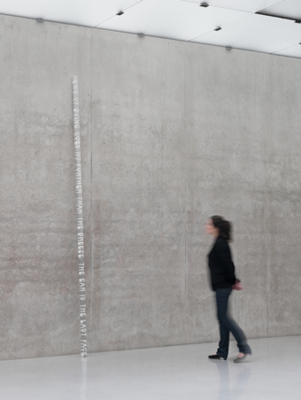 "Roni Horn / ""White Dickinson"", installation view, ""Well and Truly"", Kunsthaus Bregenz, 2010  / 2010"