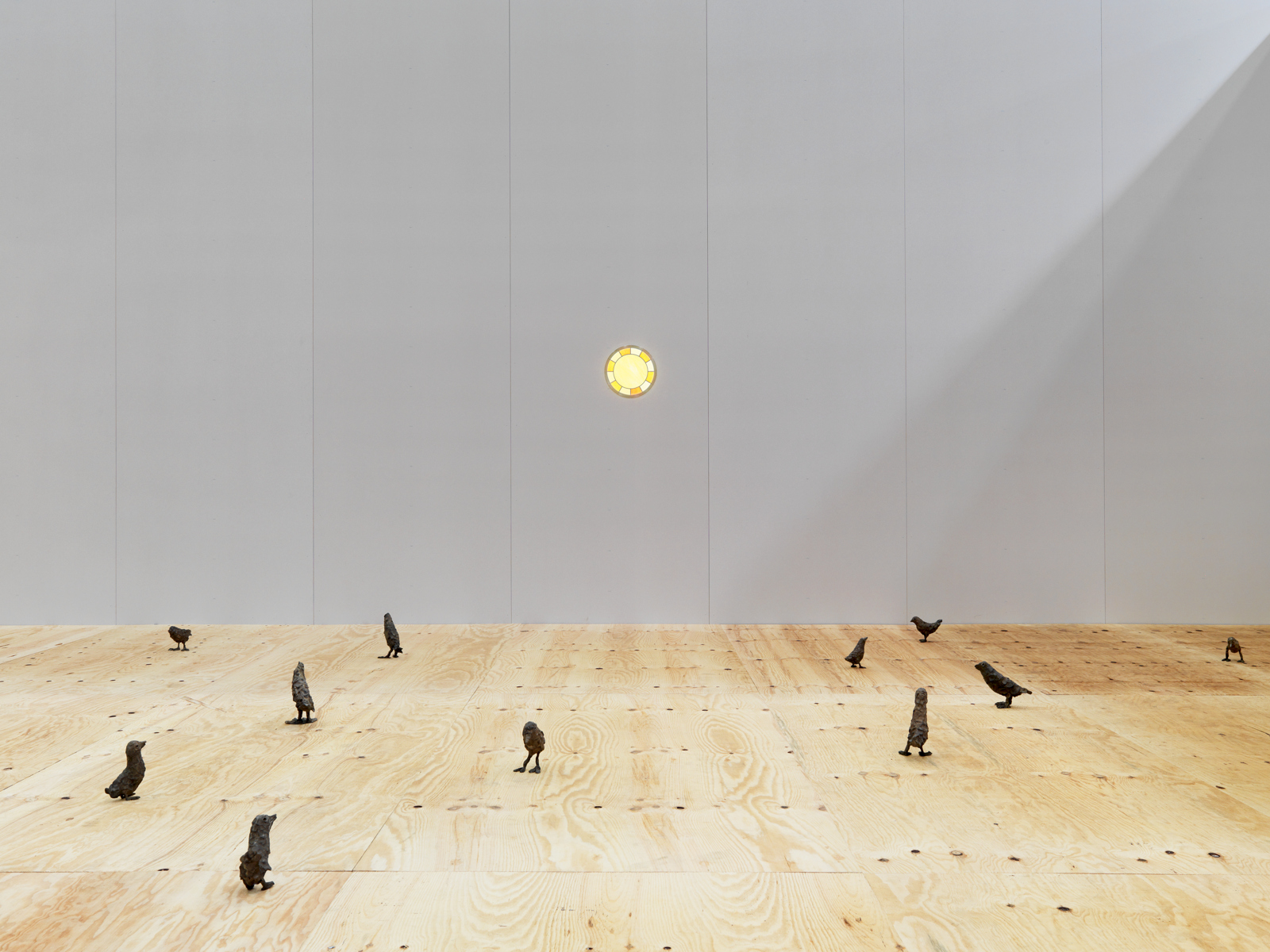 Ugo Rondinone / Exhibition view, Art Unlimited Basel  / 2012