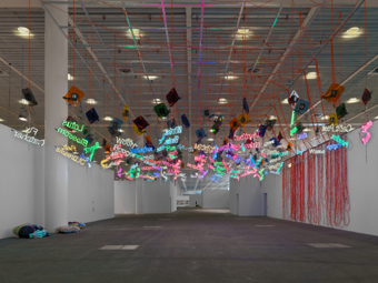 "Jason Rhoades / ""My Madinah. In Pursuit of my Ermitage…"", installation view, Art Unlimited 2011 / 2004-2005"