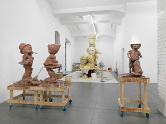 Paul McCarthy / Exhibition view, Hauser & Wirth Zürich / 2009