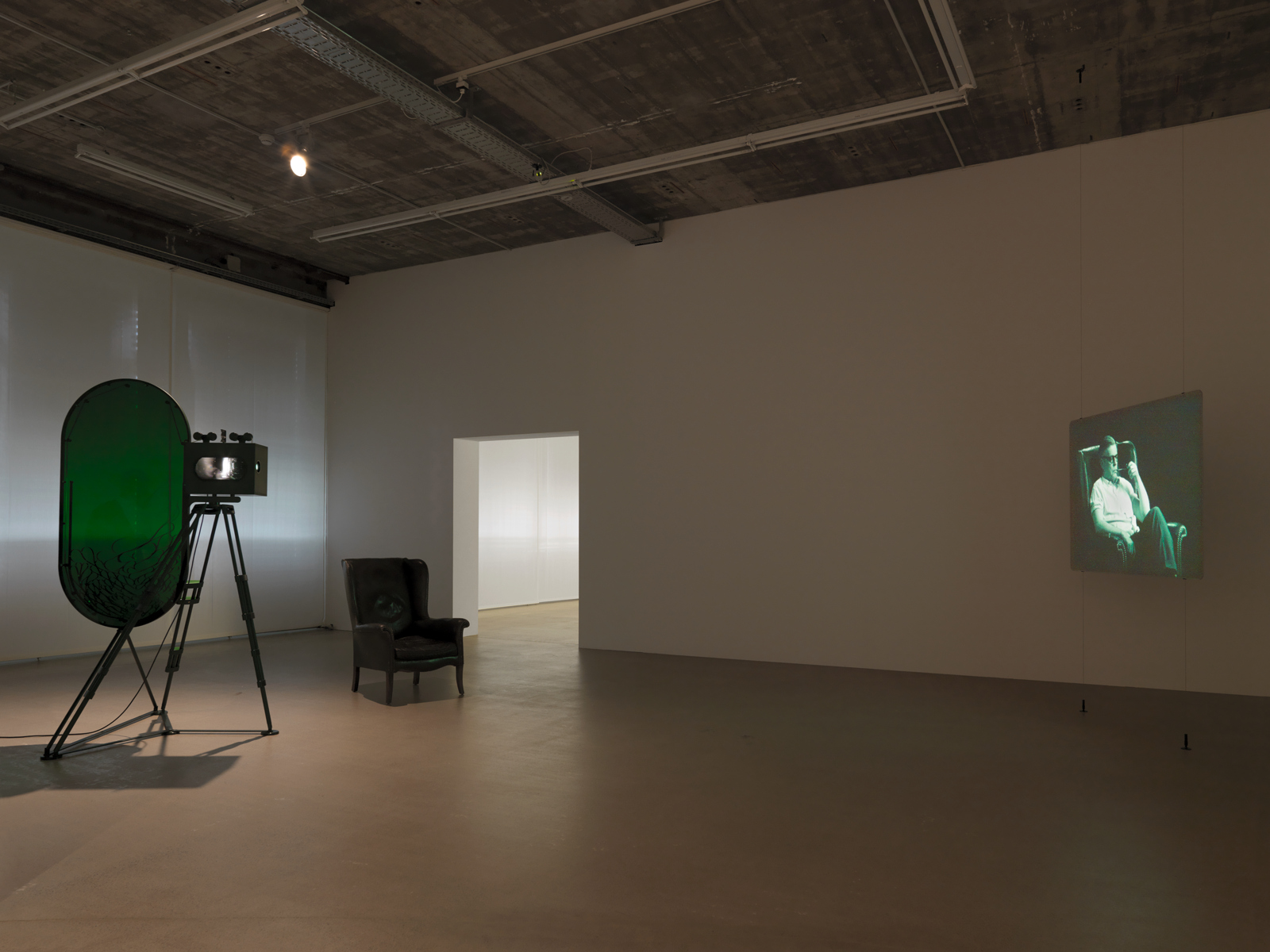 "Rodney Graham / ""Vignettes of Life"", exhibition view, Hauser & Wirth Zürich / 2011"