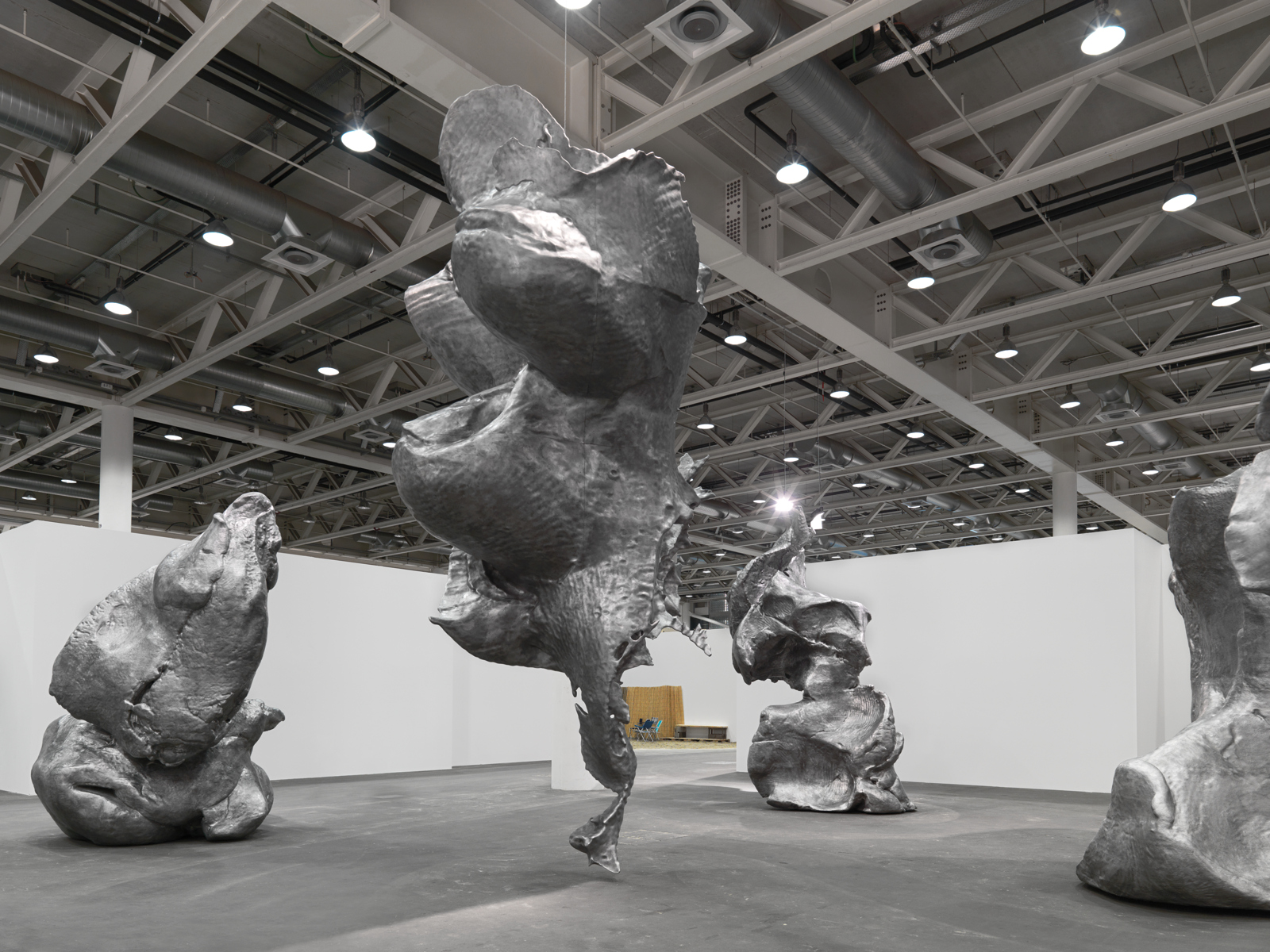 Urs Fischer / Exhibition view, Art Unlimited Basel / 2010
