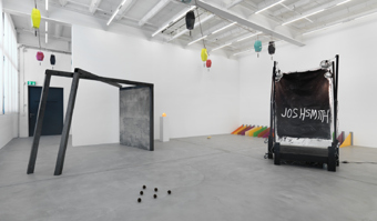 "Various Artists / ""Sculpture Now"", exhibition view, Galerie Eva Presenhuber, Zürich  / 2011"