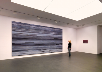 "Dokoupil / ""Movie and TV Paintings"", exhibition view, Galerie Andrea Caratsch, Zürich / 2007"
