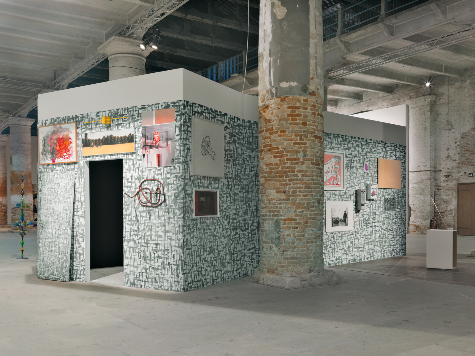 "Franz West / ""Extroversion"", installation view, ""Illuminations"", Venice Biennale, 2011 / 2011"