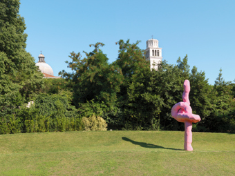 "Franz West / ""Unknown"", installation view, ""Illuminations"", Venice Biennale, 2011 / 2011"