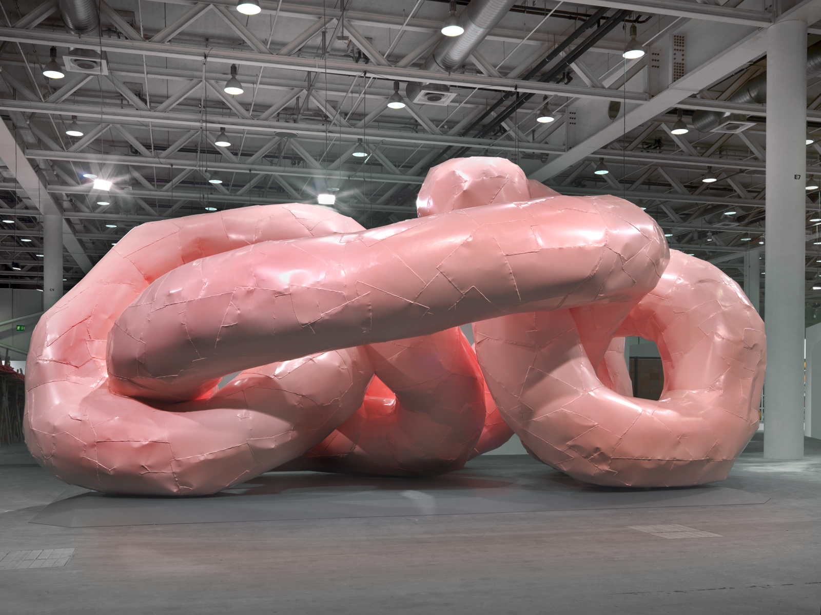 "Franz West / ""Gekröse"", installation view, Art Unlimited 2012 / 2012"