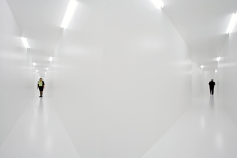 "Monika Sosnowska / ""Loop"", exhibition view, Kunstmuseum Liechtenstein, Vaduz  / 2007"