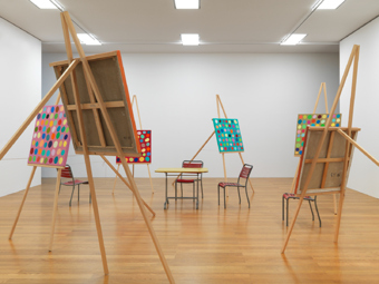 "Various Artists / ""Dialog Liechtenstein"", exhibition view, Kunstmuseum Liechtenstein, Vaduz / 2010"