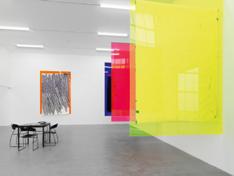 "Various Artists / ""Non-Solo Show, Non-Group Show"", exhibition view, Kunsthalle Zürich / 2009"