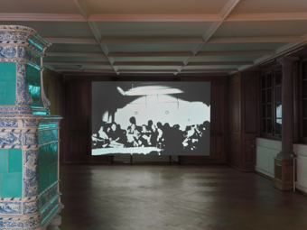 "Olivier Mosset / ""Leaving the Museum"", exhibition view, Kunsthalle Zürich / 2012"
