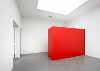 Gottfried Honegger / Exhibition view, Haus Konstruktiv, Zürich  / 2009