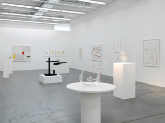 "Various Artists / ""ganz konkret. folge 2"", exhibition view, Haus Konstruktiv, Zürich  / 2010"