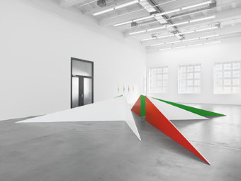 "Nelly Rudin / ""Open Space"", exhibition view, Haus Konstruktiv, Zürich  / 2011"
