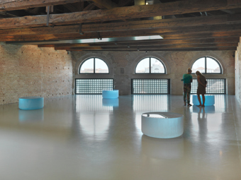 "Roni Horn / Well and Truly, installation view, ""In Praise of Doubt"", Punta Della Dogana, Venice, 2011 / 2009-2010"