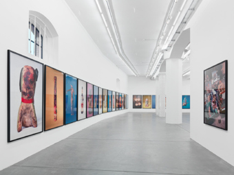 "Paul McCarthy / ""PROPO"", exhibition view, Hauser & Wirth, Zürich  / 2012"
