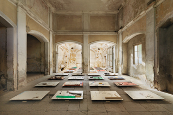 Andres Lutz / Anders Guggisberg / Exhibition view, St.Moritz Art Masters / 2012