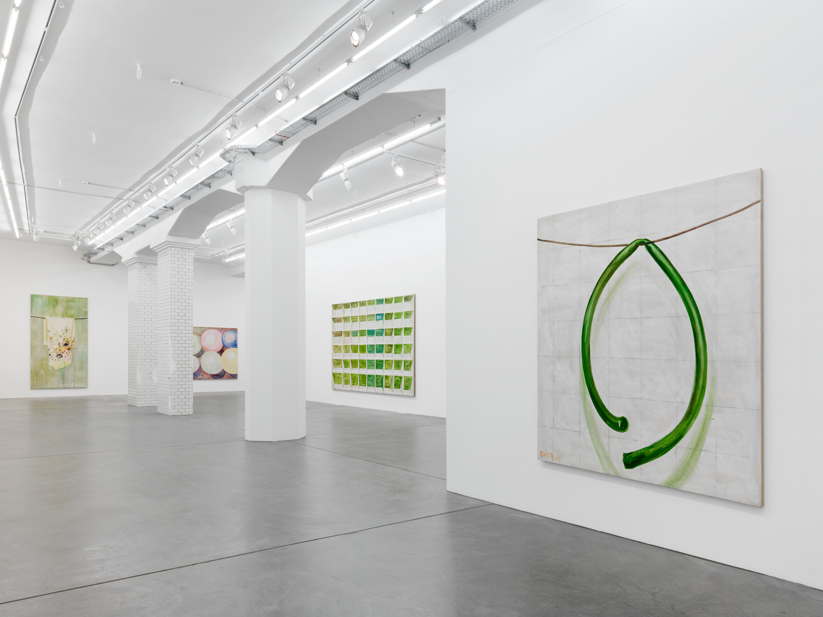 "Zhang Enli / ""Topology"", exhibition view, Hauser & Wirth, Zürich  / 2012"