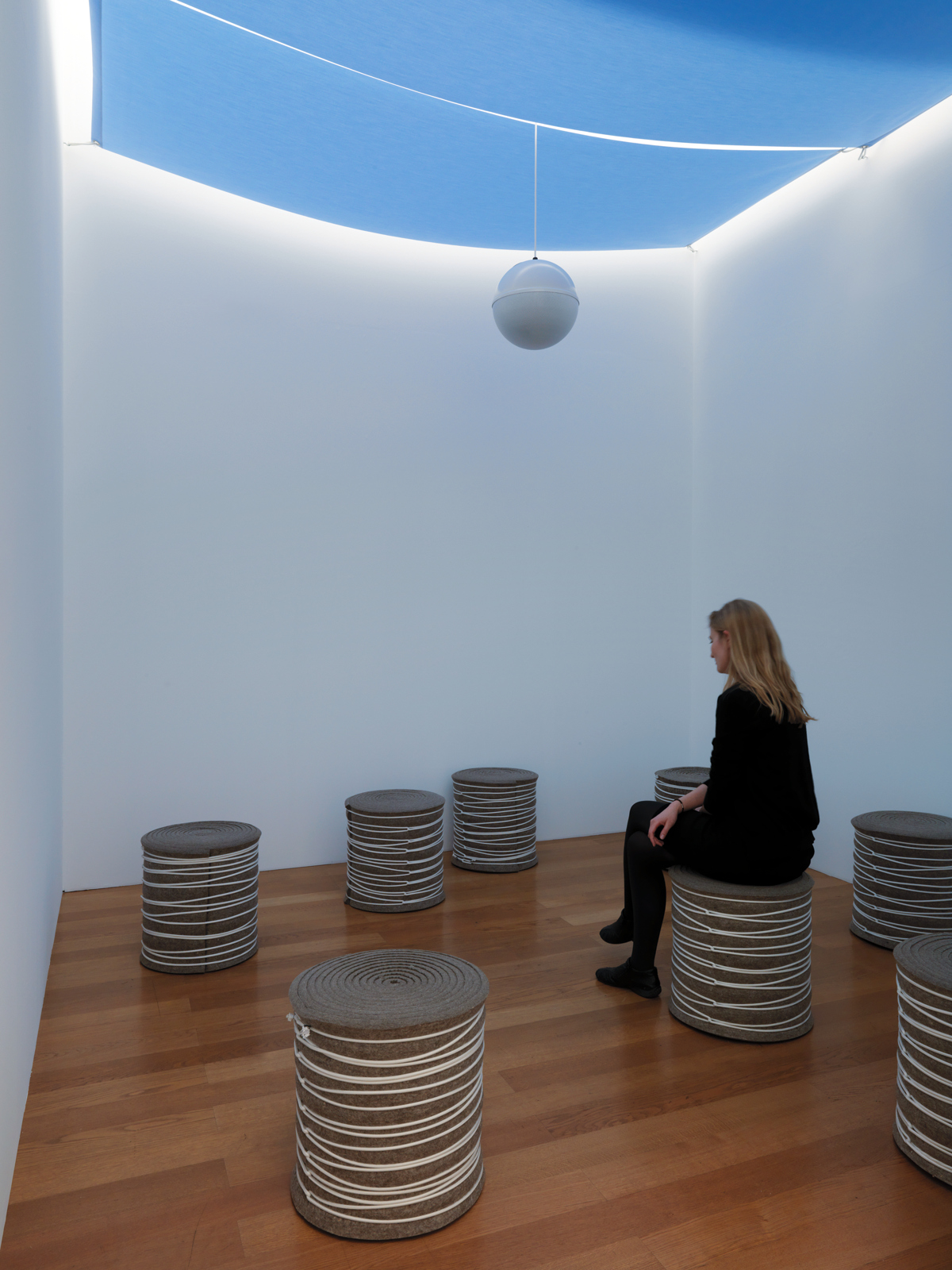 "Various Artists / ""Don't Smile"", exhibition view, Kunstmuseum Liechtenstein, Vaduz / 2012"