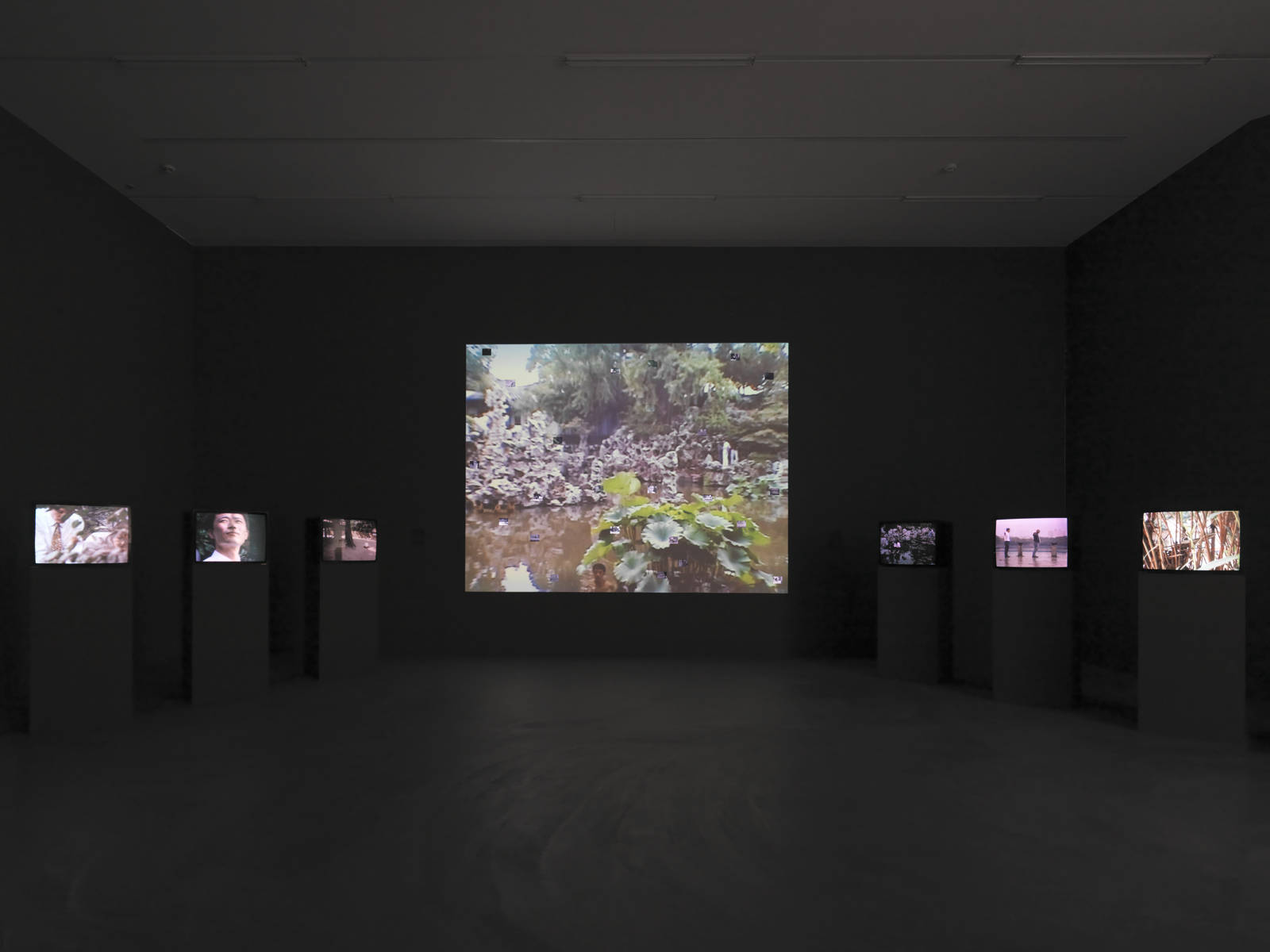 "Yang Fudong / ""Estranged Paradise. Works 1993–2013"", exhibition view, Kunsthalle Zürich  / 2013"