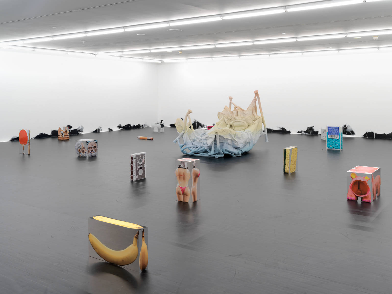 Urs Fischer / Exhibition view, MOCA, Los Angeles / 2013