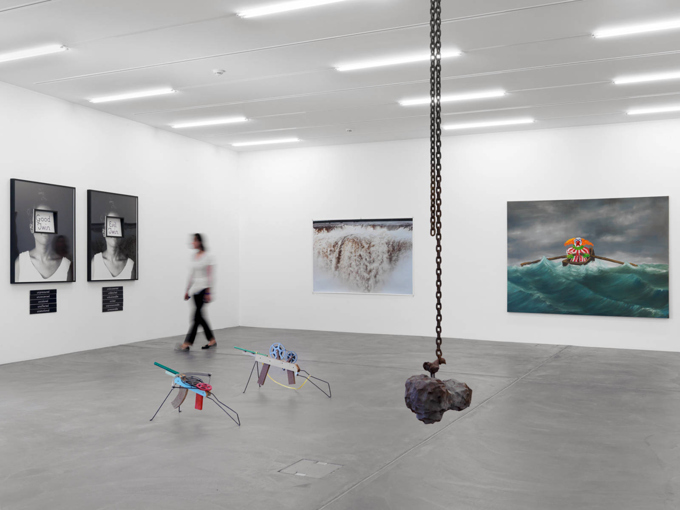 "Various Artists / ""Some a little sooner, some a little later"", exhibition view, POOL at LUMA Westbau, Zürich  / 2013"