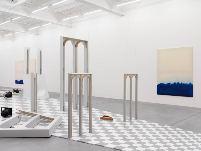 "Latifa Echakhch / ""The Scene Takes Place"", exhibition view, Galerie Eva Presenhuber, Zürich  / 2013"