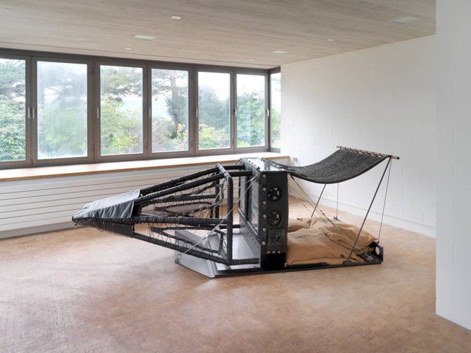 Ashley Bickerton / Exhibition view, Studiolo, Zürich / 2013