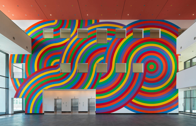 Soll Lewitt / Art at Swiss Re, installation view, Armonk / 2014