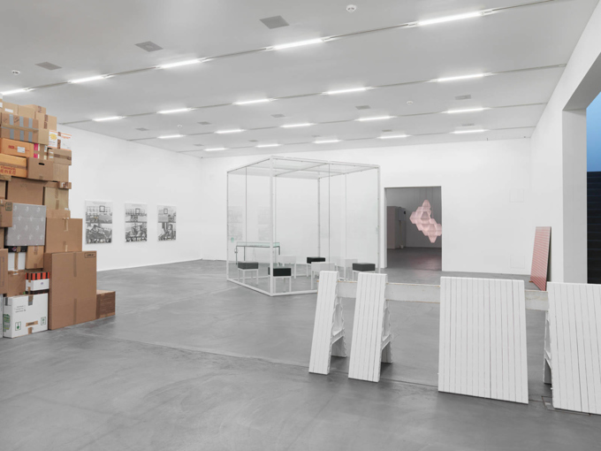 "Various Artists / ""Collection on Display"", exhibition view, Migros Museum für Gegenwartskunst Zürich / 2014"