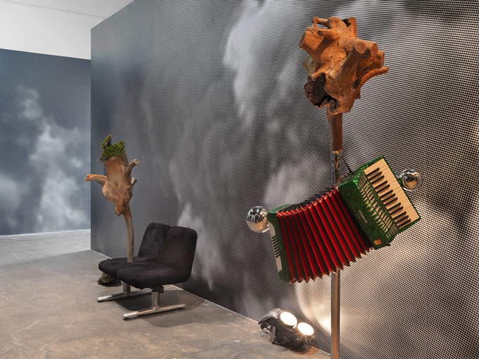 "Various Artists / ""Burning Down the House"", exhibition view, Gwangju Biennal / 2014"