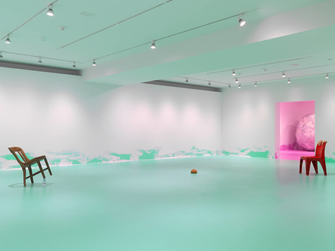 Urs Fischer / Exhibition view, Gagosian Gallery NYC / 2014