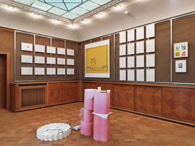 "Various Artists / ""Collecting Lines"", exhibition view, Ringier Collection, Villa Flora, Winterthur / 2015"