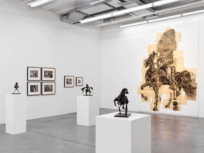 "William Kentridge / ""The Nose"", exhibition view, Haus Konstruktiv, Zürich / 2015"