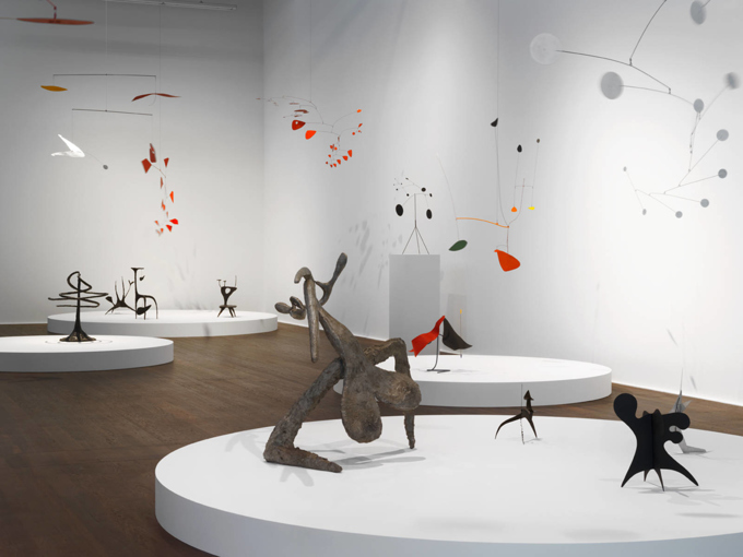 "Alexander Calder / Francis Picabia / ""Transparence"", exhibition view / 2015"