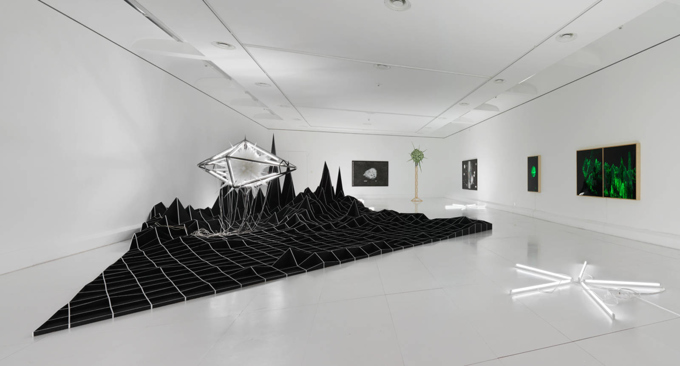 Heiko Blankenstein / Exhibition view, Kunstraum Vaduz / 2015