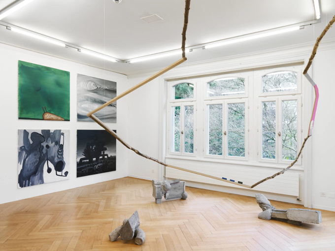Andres Lutz / Anders Guggisberg / Exhibition view, Museum im Bellpark, Kriens / 2015