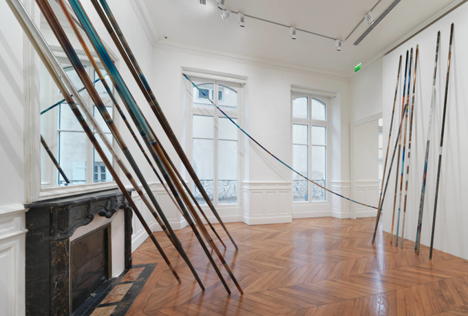 "Raphael Hefti / ""On Core / Encore"", exhibition view, Fondation Vincent van Gogh, Arles / 2015"
