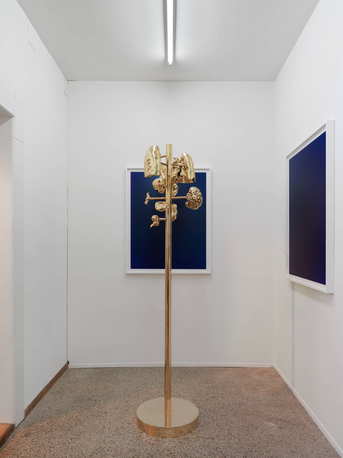 "Melodie Mousset / ""There it Should be like it is Going Inside, like Here"", exhibition view, Galerie Barbara Seiler, Zürich / 2016"