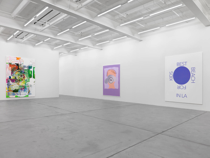 Michael Williams / Exhibition view, Galerie Eva Presenhuber, Zürich / 2016