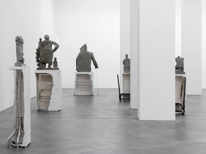 Justin Matherly / Exhibition view, Galerie Eva Presenhuber, Zürich / 2016
