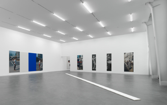 "Ian Wallace / ""A literature of images"", exhibition view, Kunsthalle Zürich / 2008"
