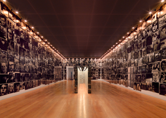 "Christian Boltanski / ""La vie possible"", exhibition view, Kunstmuseum Liechtenstein, Vaduz / 2009"