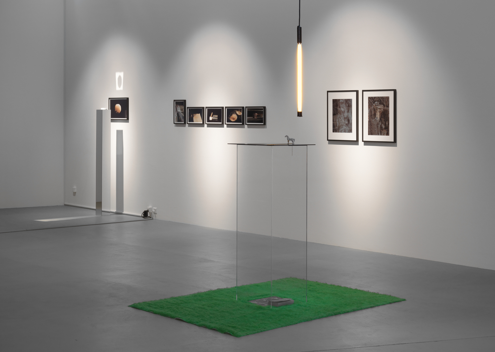 "Various Artists / ""Little Theatre of Gestures"", exhibition view, Museum für Gegenwartskunst Basel  / 2009"